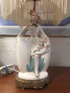 1950's vintage lady lamp West Island Greater Montréal image 2