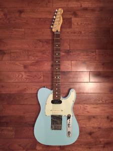 Fender Telecaster Deluxe Nashville Daphne Blue