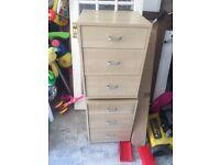 Ikea Malm bedside draw cabinet