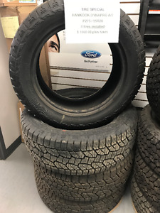 Tire Special Hankook Dynapro A/T