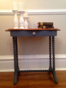 Refinished vintage solid pine table