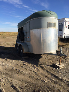 Two Horse Bumper Pull Trailer ~ Open to offers!