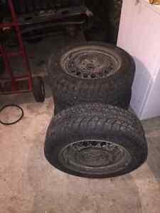 "15"" tires & wheels  St. John's Newfoundland image 1"