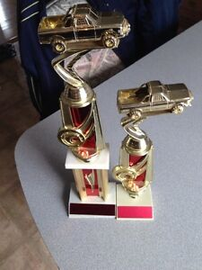 Pickup truck award trophies