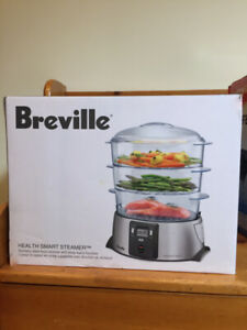 BREVILLE Stainless Steel food Steamer - Brand New in box