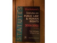 Public Law and Human Rights