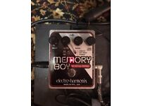 Electro-Harmonix memory boy delay guitar pedal