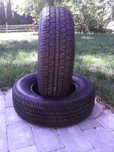 Tires 215 75R14, brand new
