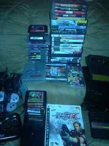 OLDER WORKING GAME GEAR & GAMES & EXTRA STUFF FOR TRADE OR SALE
