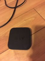 Apple TV Box with power cable and HDMI Cable for $40