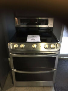 Smoothtop Stainless Steel Stoves Double Oven Stainless Stove