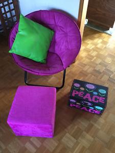 Chaise,  accessoires