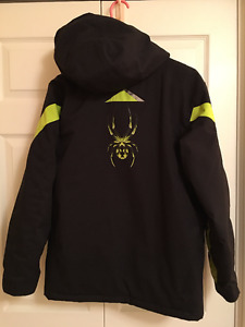 Boys Youth Spyder Jacket Size 20 (comparable to men's x-small/sm