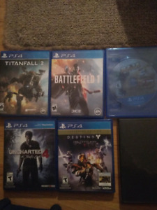 Ps4 games ($90all) $20 each)