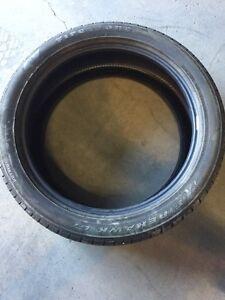One Firestone Firehawk GT tire