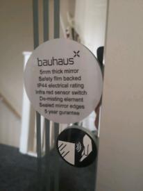 Bauhaus bathroom mirror