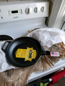 "12"" Lodge Pro Logic Cast Iron Frypan"