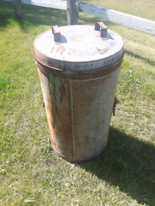 steel storage barrel