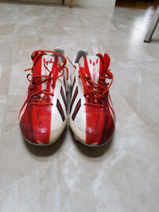 Size 10 mens F50 adizero Adidas soccer cleats