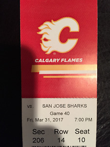 Flames Tickets