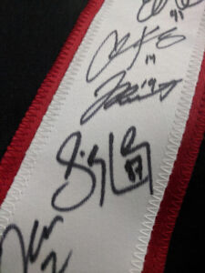 Canadian Men's Olympic Hockey Team Jersey Signed by Full Roster!