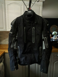 Motorcycle Jacket Size XL - Speed N Strength To Hell and Back.