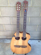 Handmade doubleneck guitar with 2 RMC pickups Fortitude Valley Brisbane North East Preview