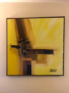 Abstract, Large Shelley Paintings