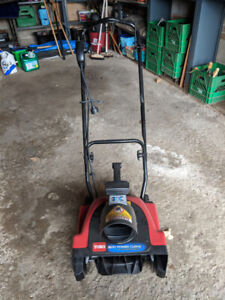 Electric Snow Blower -Toro 1500 Power Curve w/ 15-inch Clearing