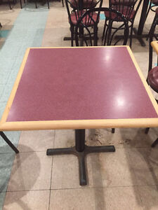 Restaurant used chair and table