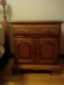 Maple Dresser with MIrror and side shelves Peterborough Peterborough Area image 3