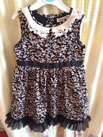 Girls party dress , toddler dress 2-3 yrs