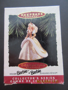 Hallmark Keepsake Barbie and Ken Ornaments