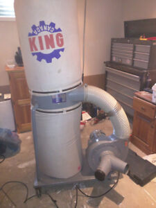 King 2 HP dust collector