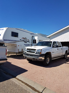 Truck and Fifth Wheel For Sale