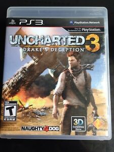 Uncharted 3 for PS3 !!!!!!!!!!
