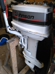 20 HP Johnson Outboard Motor
