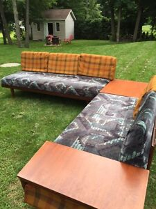 "Vintage ""Mid-Century Modern"" Sectional Daybed by SVANE NORWAY"