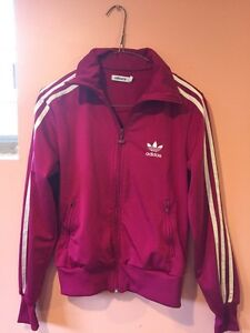 Authentic Adidas pink jacket size small