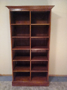 Large bookcase / shelving unit Wynyard Waratah Area Preview