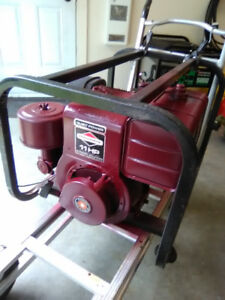 Two generators for sale as a pair.
