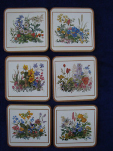 Set of 6 Coasters, by PIMPERNEL, Brand new.
