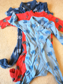Marks and Spencer tractor sleepsuits 9-12 months