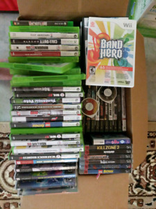 Many games. Wii. Xbox. Xbox 360. Ps2. Ps3 psp