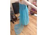 Frozen Elsa and Anna Dresses,