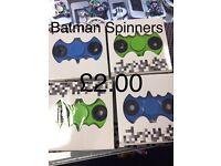 Batman Spinner £2 Each Limited Stock