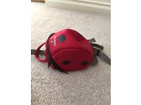 Little life ladybird backpack with reins for active toddlers