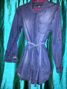Tunique en jeans marque Suzy Shier