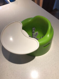 Bumbo  with tray (green)