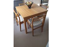 Compact Table & Chairs